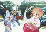 Kyoukai no Kanata Wallpaper HD
