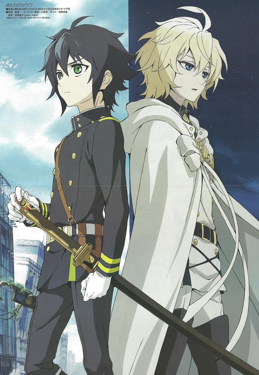 M O M O K O A S U K A { 2 }: [Reseña anime] Owari no Seraph