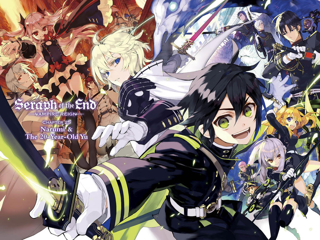 owari no seraph wallpaper anime hd by corphish2 on deviantart