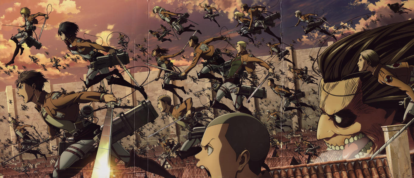 Wonderful Wallpaper High Quality Attack On Titan - attack_on_titan_shingeki_no_kyojin_epic_wallpaper_by_corphish2-d8qknow  Perfect Image Reference_23826.jpg