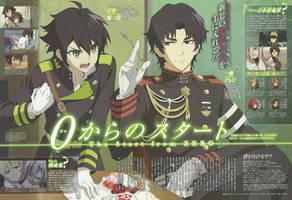 Owari no Seraph Wallpaper anime by corphish2