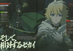 Owari no Seraph Wallpaper anime LQ Mika by corphish2