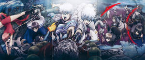 Gintama Wallpaper HD by corphish2