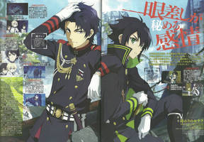 Owari no Seraph Wallpaper anime HD by corphish2