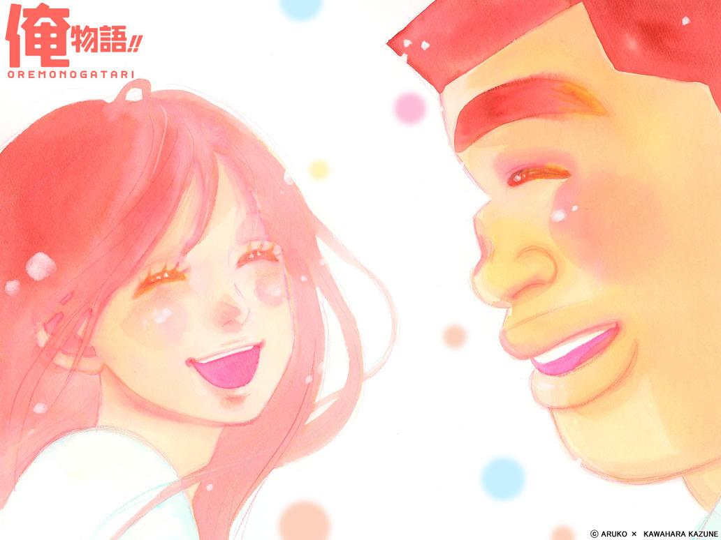 Ore Monogatari Wallpaper HD / My Love Story By Corphish2