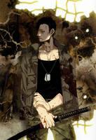 Gangsta Anime Nicolas Brown Art by corphish2