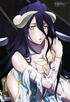 Overlord Albedo Anime Artwork HD