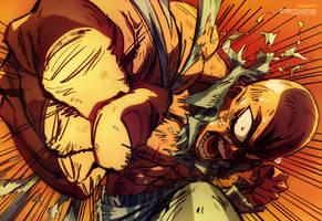 One Punch Man Wallpaper HD Saitama Anime by corphish2