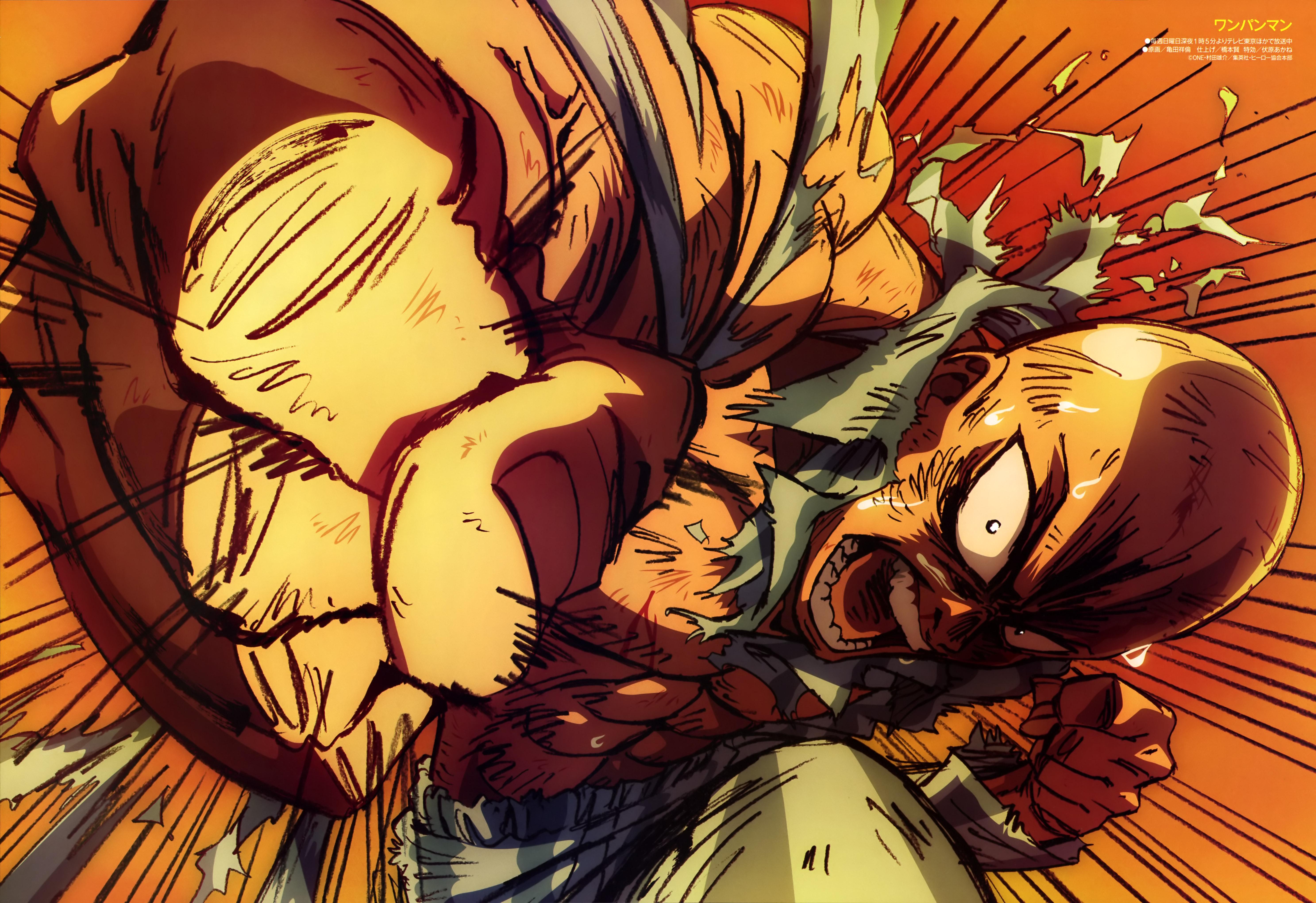 Saitama Images Hd - One Punch Man Wallpaper HD Saitama Anime by corphish2 on ...