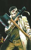 One Punch Man Artwork Saitama by corphish2