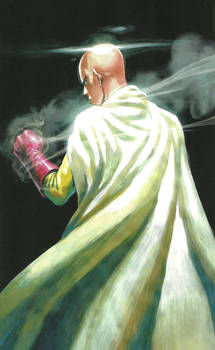 One Punch Man Artwork Saitama