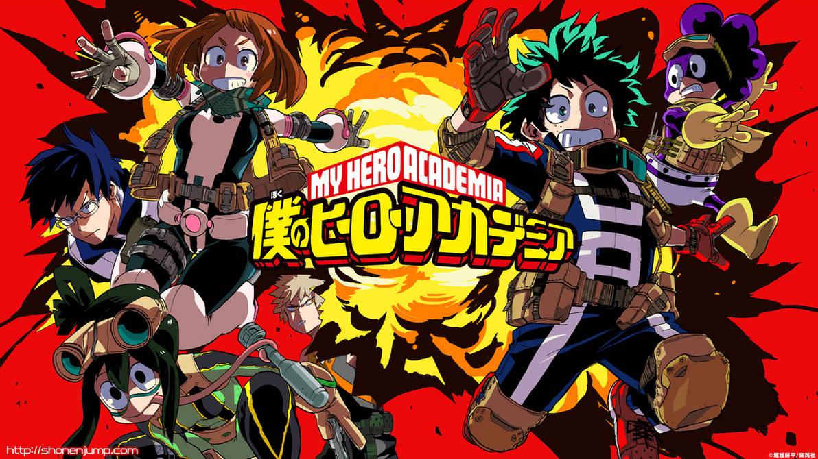 Boku no Hero Academia Wallpaper HD Anime by corphish2