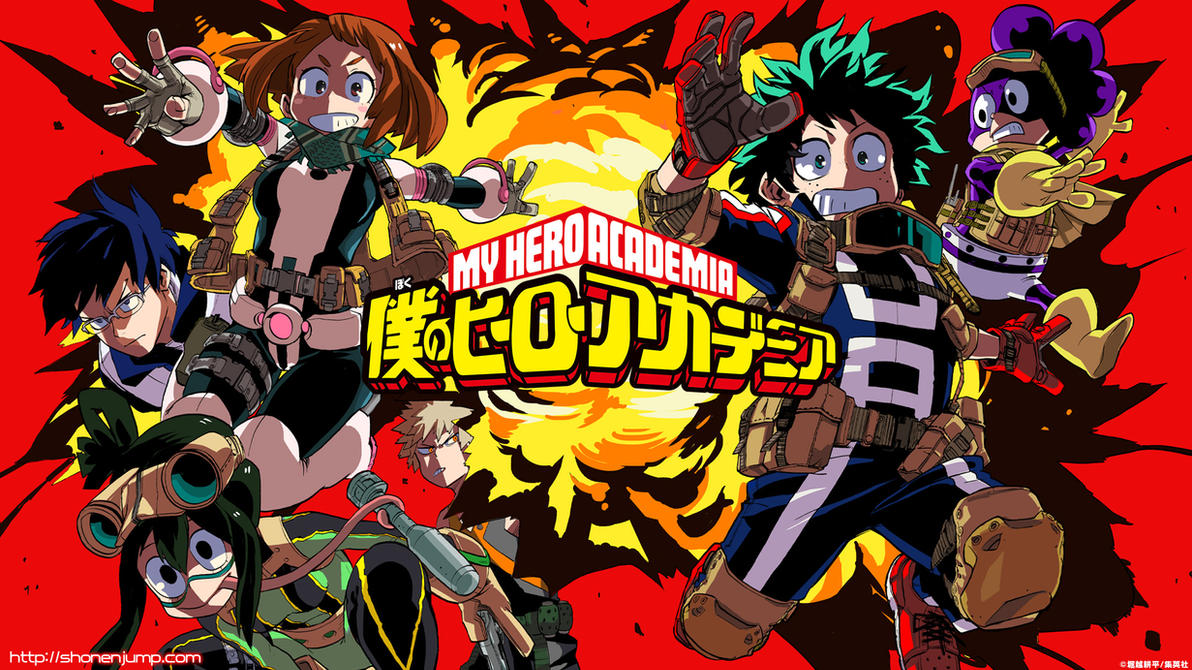 boku no hero academia wallpaper hd animecorphish2 on deviantart