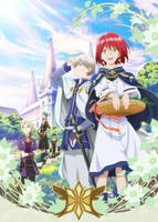 Akagami no Shirayuki-hime Artwork HD by corphish2