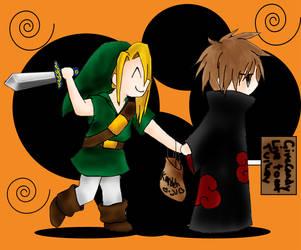 Halloween 05----Shukaku-chan by Deidara-Fan-Club
