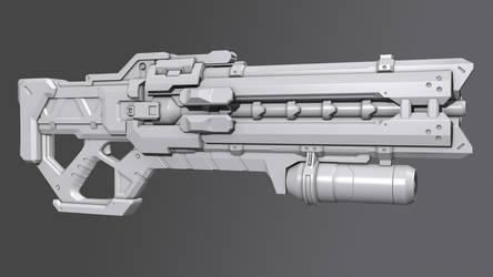 Soldier 76's Weapon [Fan art]