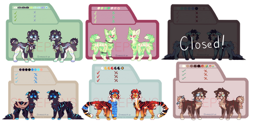 [5/5 OPEN OTA] Colourful Canines!