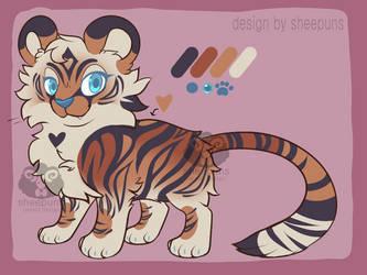 Tiger Heart Adopt [closed!]