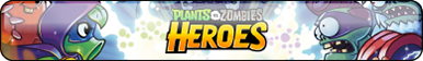 Plants vs Zombies HEROES Button