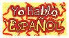 DA stamp: I speak spanish