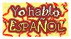 DA stamp: I speak spanish by Terrami