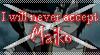 DA Stamp: Never accept Maiko by Terrami