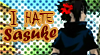DA Stamp: I hate Sasuke by Terrami