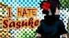DA Stamp: I hate Sasuke by Terrami
