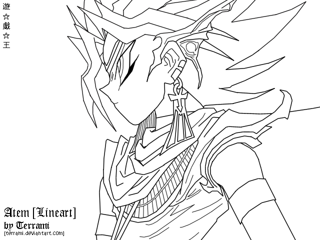 Yu Gi Oh Coloring Pages - Costumepartyrun