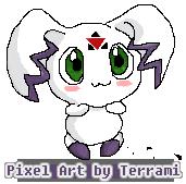 Calumon -pixel art- by Terrami