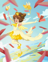 CCS: Yellow Dress by sleepy-KC