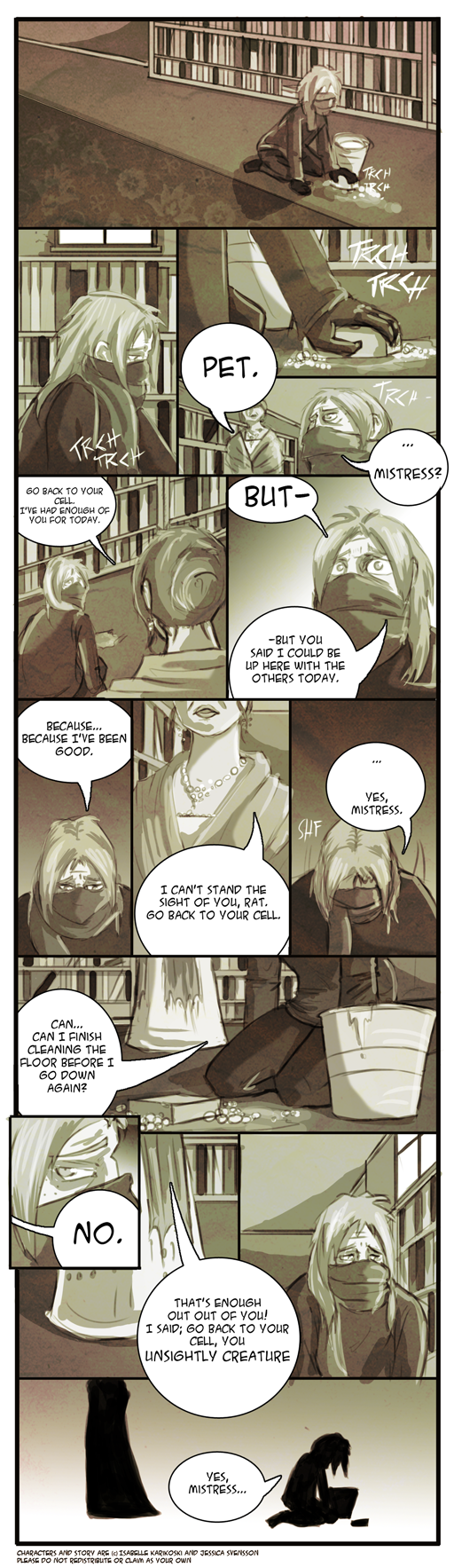 Prompt: What Could Have Been - Comic by Koskish
