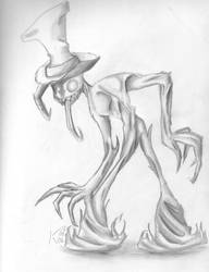 Shadow.. in a hat by Koskish