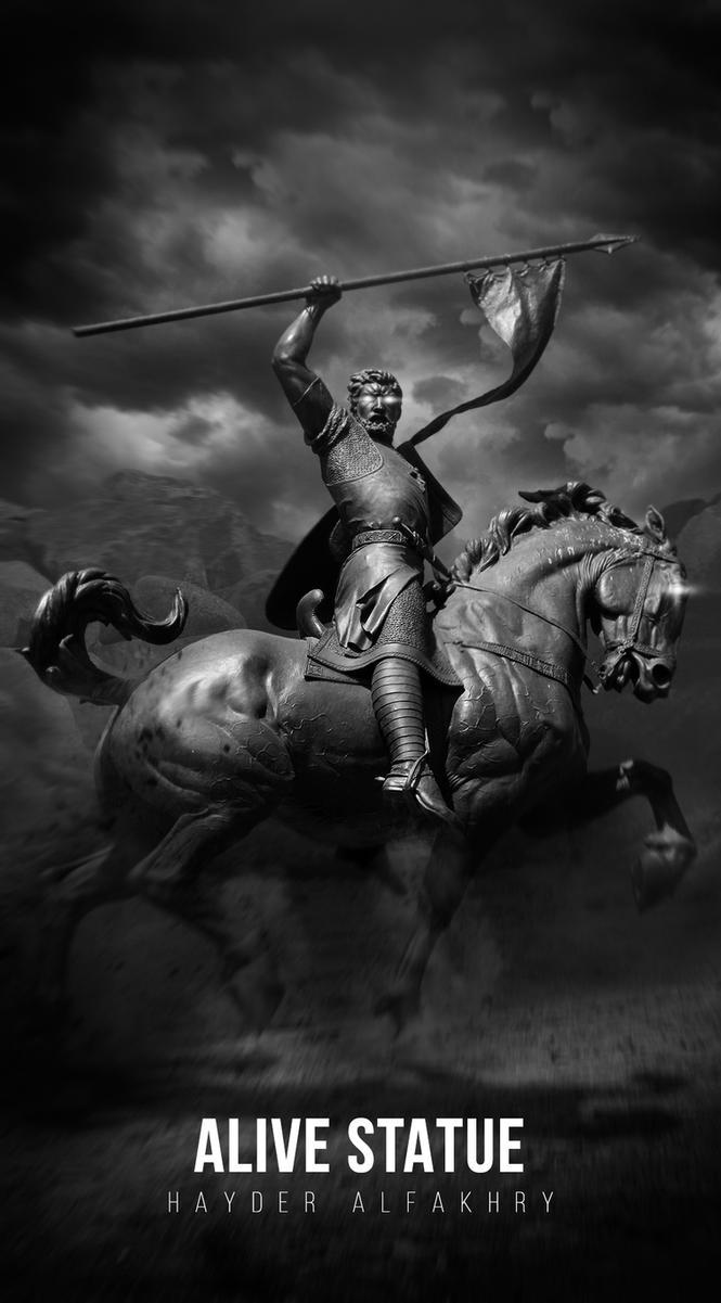 Alive Statue by Hayderalfakhry