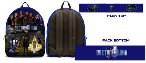 The Doctor Who backpack by mjarts