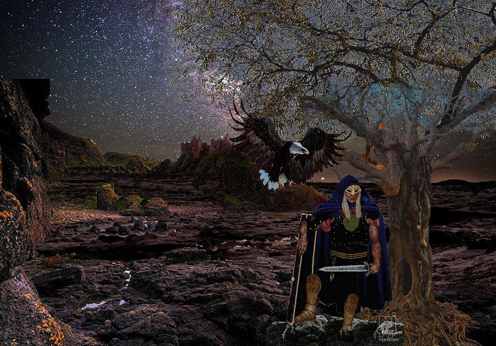 Night Watcher Digital 25X20 by mjarts