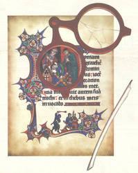 Murder in the scriptorium by Behydezell