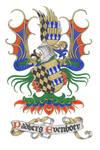 heraldic bookplate