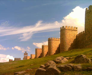 City Wall by Behydezell