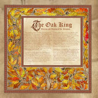 Oak King, Book of Shadows by Brightstone