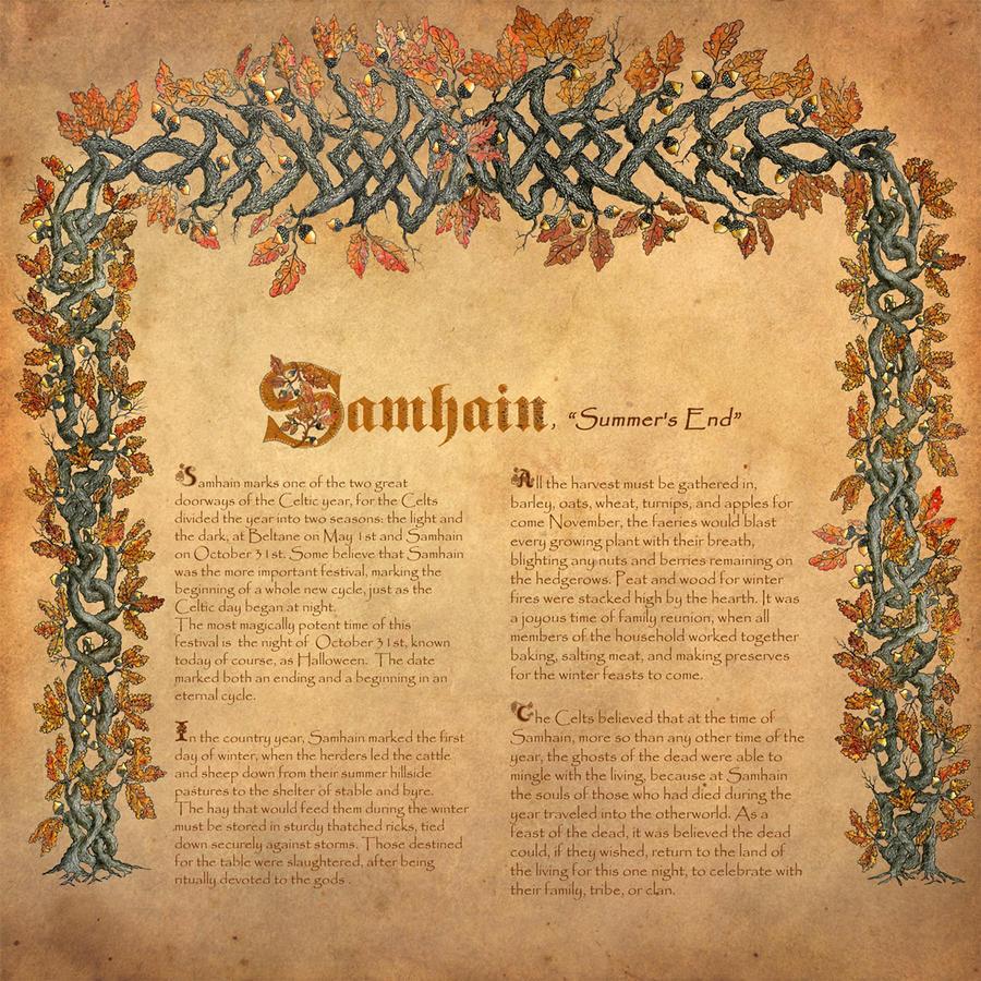 Book of Shadows, Samhain