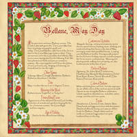 Book of Shadows Customs of Beltane by Brightstone