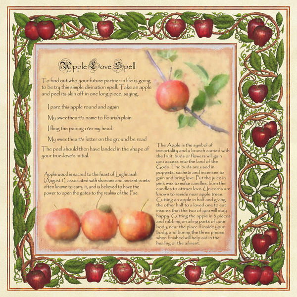 Book of Shadows, Apple Magic Page 2