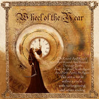 Book of Shadows, Wheel of the Year, page 1 by Brightstone