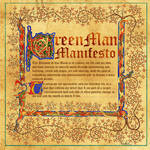 Book of Shadows Green Man Manifesto Pg 2