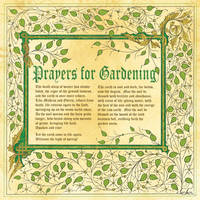 Book of Shadow, Pagan Prayers for Gardening Pg 2 by Brightstone