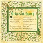 Book of Shadows, Pagan Prayers for Spring, Pg 1
