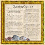Cleaning Crystals, Book of Shadows