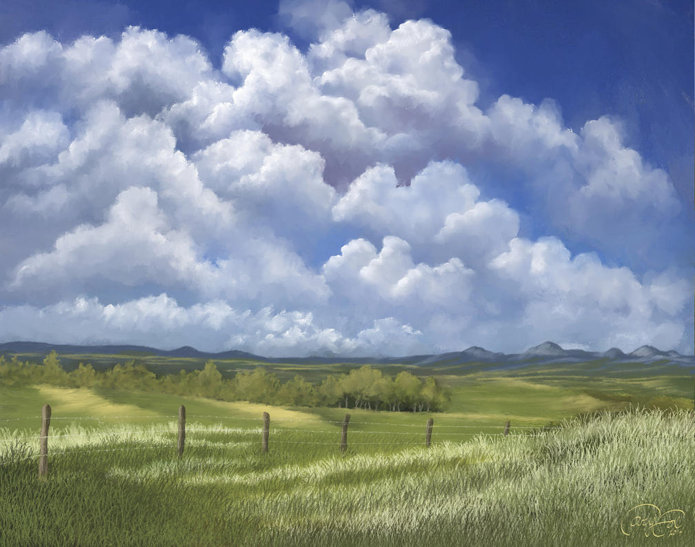 Summer Clouds by Brightstone