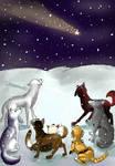 Christmas star by Aisha-Autumn